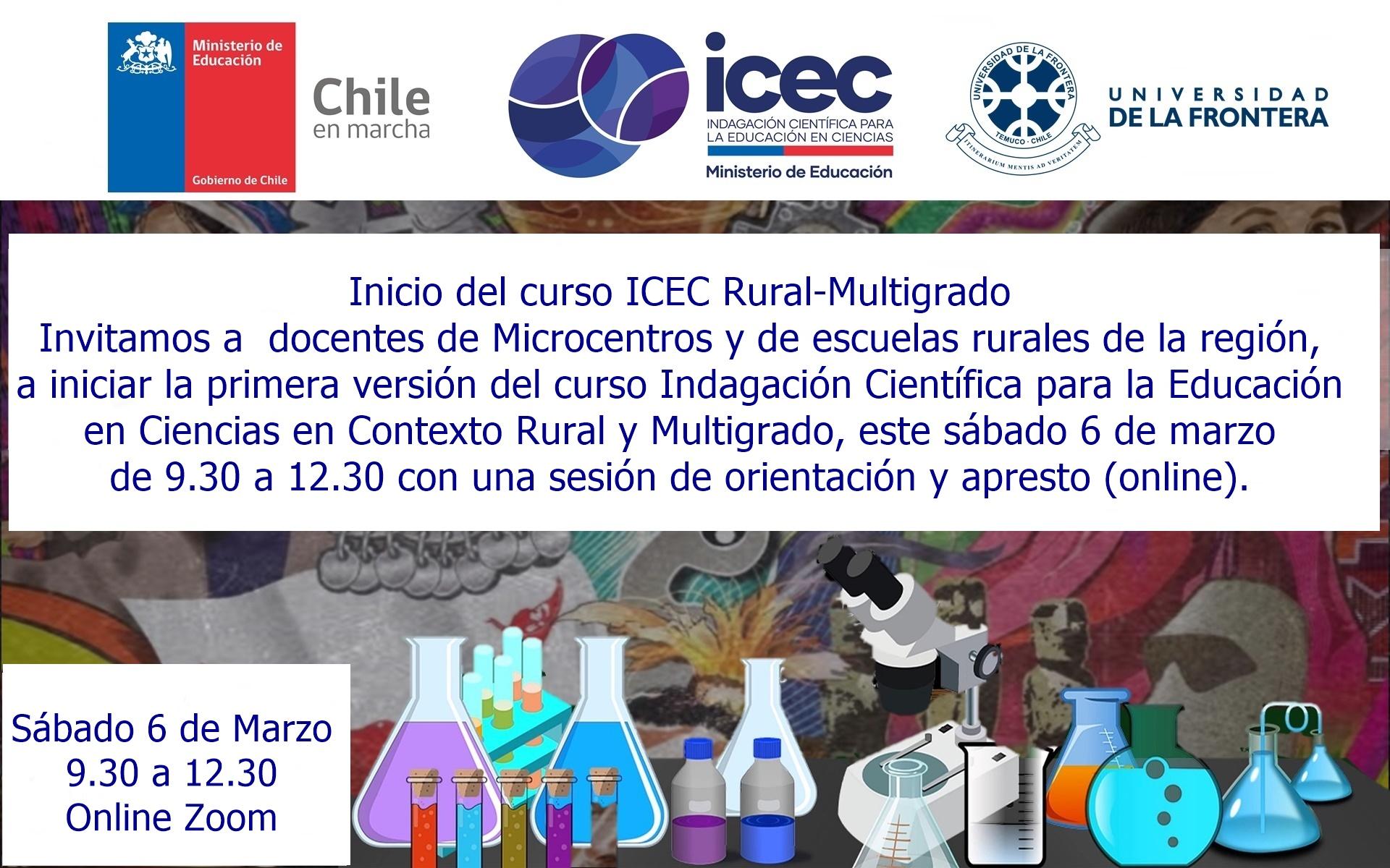 Inicio del curso ICEC Rural-Multigrado